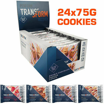 Sci-MX Nutrition Pro2Go Whey Protein Cookie 24x75g Sci Mx Pro 2Go Cookies