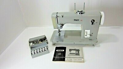 No Pedal/Power Cord: Pfaff 92/93 Sewing Machine w/Cams & Accessories