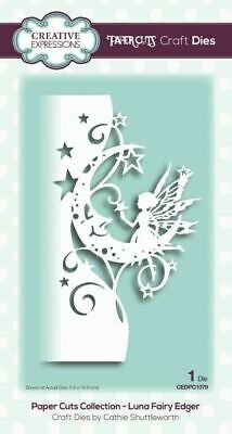 Creative Expressions Luna Fairy Edger Paper Cuts Collection Die CEDPC1079
