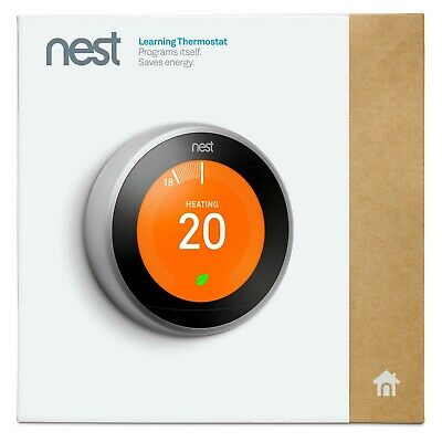 Nest Learning Thermostat 3ª Generation Stainless Steel ( Ref: T3010IT )