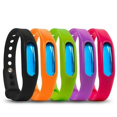 Anti Mosquito Pest Insect Bug Repellent Wrist Band Bracelet Outdoor Camping