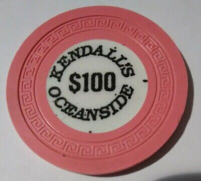 Kendalls Oceanside Casino Russia? $100.00 Chip Great For Any Collection!