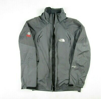 The North Face Mens Summit Series Gore-tex XCR Full Zip Grey Outdoor Jacket M