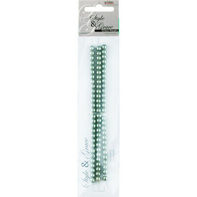 NEW Ribtex Style & Grace Glass Pearls 81 Pack By Spotlight