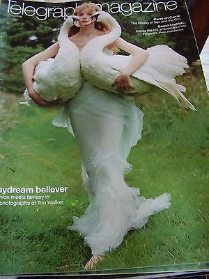 Vintage Telegraph Magazine May 2008 Carry On Carrie Tim Walker Grand Central