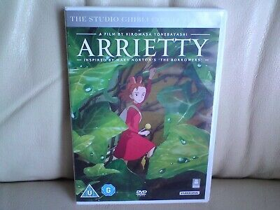 Arrietty The Studio Ghibli Collection DVD ,VGC,