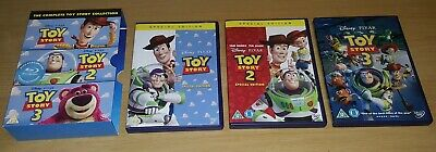 Toy Story 1, 2, 3 ( Disney DVD ) Kids Movie 3-Disc Set Collection