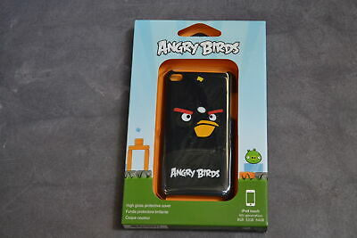 GEAR4 Angry Birds Case For iPod Touch Black Bird Fitted EX-310W EX-310w 1E