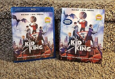 The Kid Who Would Be King Blu Ray/DvD 2 Disc Combo w/ Slipsleeve Patrick Stewart