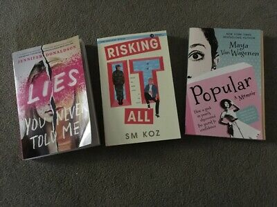 LOT OF 10 YOUNG ADULT YA TEEN Books RANDOM UNSORTED MIXED
