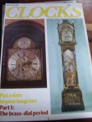 Clocks Mag November 1982 Hms Royal George Clock Date Your Longcase