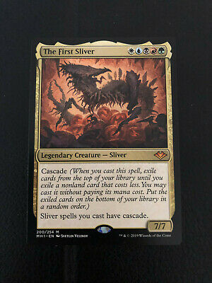 Magic the Gathering The First Sliver x1 Modern Horizons MtG NM Mythic Rare