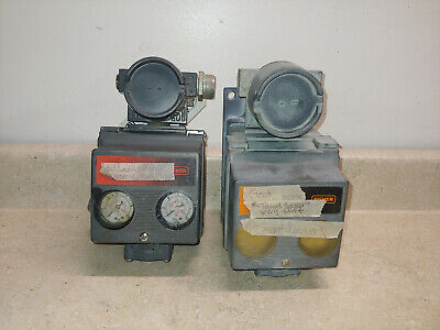Used Fisher Type DVC5020, 4 to 20 mADC Positioner