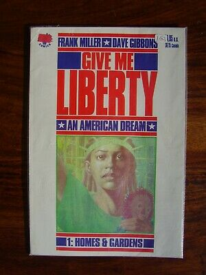 Dark Horse Comics Give Me Liberty Issue # 01 June 1990 Frank Miller Dave Gibbons