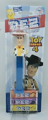 Pez Disney Pixar WOODY on TOY STORY 4 card