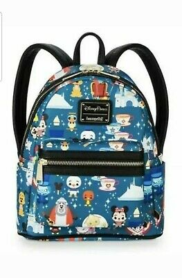 NEW WITH TAGS Disney Parks Magic Kingdom Attractions Mini Backpack Loungefly