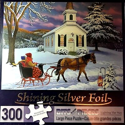 """DOG SEEDS 300 LARGE PIECE PUZZLE 18/"""" X 24/"""" SEALED BITS /& PIECES"""