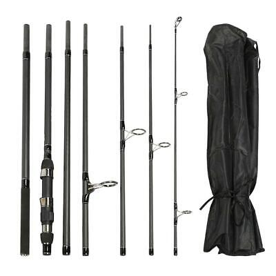 Protable Carbon Fiber 7 Sections Carp Fishing Rod Telescopic Sea Pole Accessory
