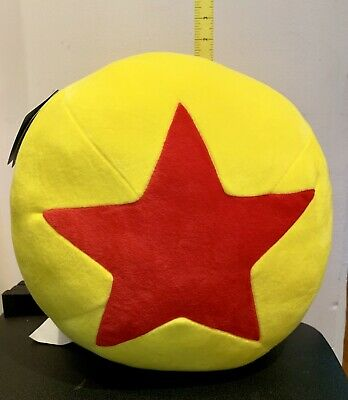 Rare New 2019 Disney Parks Exclusive Pixar Ball Large Plush Pillow Pier Fest New
