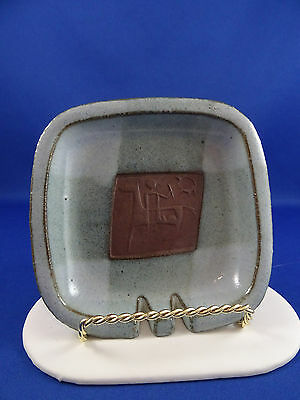 MCM Ceramic Arts Calgary Pottery Ashtray Luke Vivian Lindoe Canadian Art Pottery