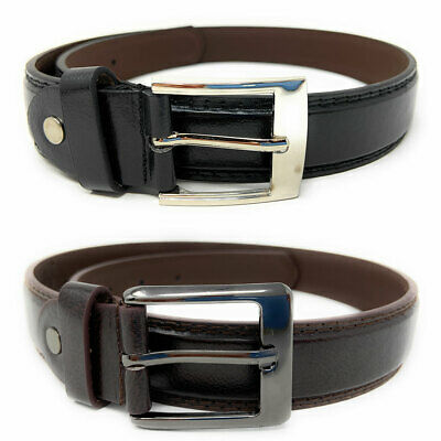 Casaba Italian Style Leather Belts for Kids Boys 2 to 10 years