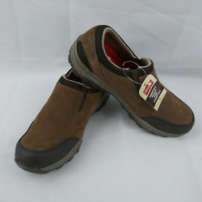 MEN'S WRANGLER GENUINE Suede Leather Casual Loafer Memory