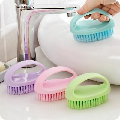 Cleaning Brush Durable Soft Bristles Clothe Plastic Shoe Brush Scrubber for Home