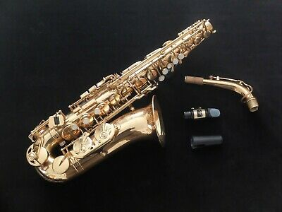 Jupiter SAS 767 Intermediate Alto Saxophone and good case.