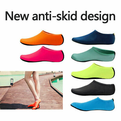 Unisex Aqua Shoes Mens Womens Kids Water Socks Slip On Sea Wet Beach Swim Surf -