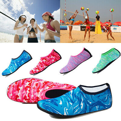 Adult Kids Mens Women Water Socks Wetsuit Non-slip Swimming Beach Diving Shoes