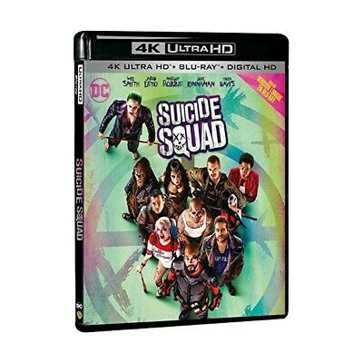 Suicide Squad 4K - 4K Ultra Hd + Bluray - Neuf Sous Blister