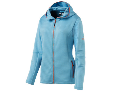 McKinley Aami Fleecejacke Damen 280698 blue light/melange *UVP 49,99