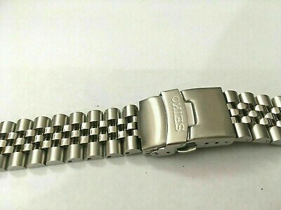 Seiko 22Mm Divers Jubilee Stainless Steel Watch Strap / Band Curved End,( Bd-5 )