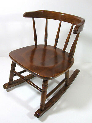 Childs Rocking Chair Wood Mission Arts & Craft