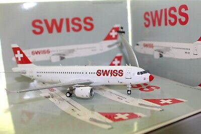 "Swiss A320-200 ""Red Nose"" (HB-IJI), 1:200, JFox"