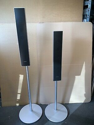 Sony Speakers Surround Sound Adjustable Height Floor Stands SS-TS73 Wall Mount