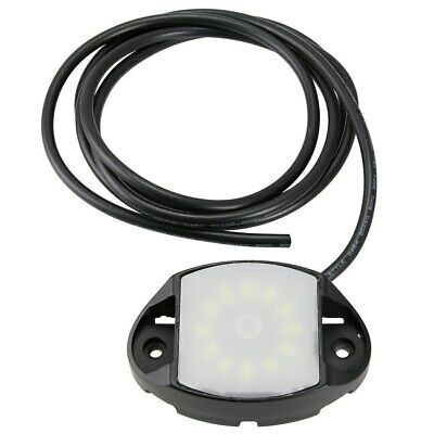 LED Dome Light Fixture 10 Step Dimmer Touch Control 12V SMD SXS UTV Boat Marine