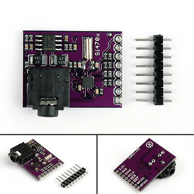 1X Si4703 FM Radio Tuner Evaluation Breakout RDS RBDS Board Modul For  T/