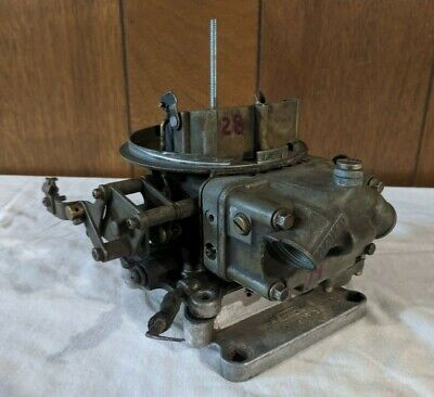 BLAKE RACE MODIFIED 500+ cfm 2 barrel carburetor 4412 Holley