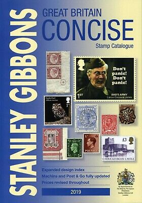 Great Britain Concise Stamp Catalogue 2019 by Stanley Gibbons
