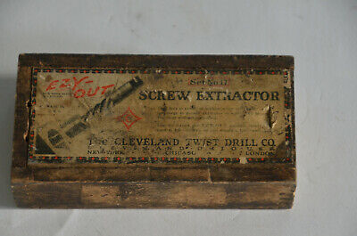 Ezy Out Screw Extractor Set #17 Cleveland Twist Co.