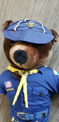 RARE! Cub Scout Teddy Bear - Greater New York Council BSA Boy Scouts of America