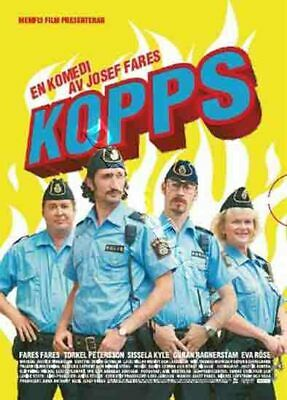 Cops NEW PAL Arthouse DVD Josef Fares Sweden