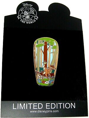 New RARE LE 100 Disney Auction Pin ✿ Bambi Butterfly Thumper Gomes Artist Signed