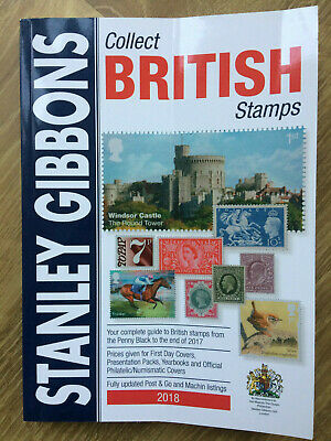 2018 Collect British Stamps by Stanley Gibbons SECONDS