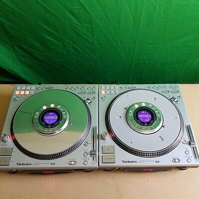 Technics SL-DZ1200 Digital Direct Drive TurnTable Pair Rare Clean TESTED WORKING