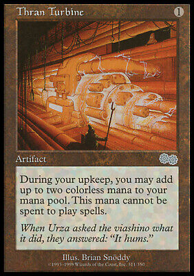 MTG Magic -  (U) - Urza's Saga - Thran Turbine - LP