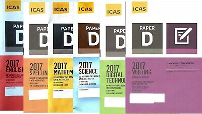 ICAS Year 6 Official Past Papers set
