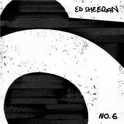 ED SHEERAN No.6 Collaborations Project+ 2 LTD COASTERS CD NEW