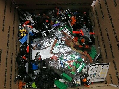 Lego 7 Pound LBS Parts & Pieces HUGE BULK LOT bricks blocks pound city town